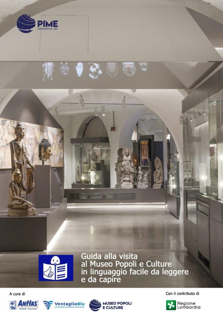 Guida in easy to read del Museo Popoli e Culture di Milano, un nuovo strumento per l'accessibilità culturale