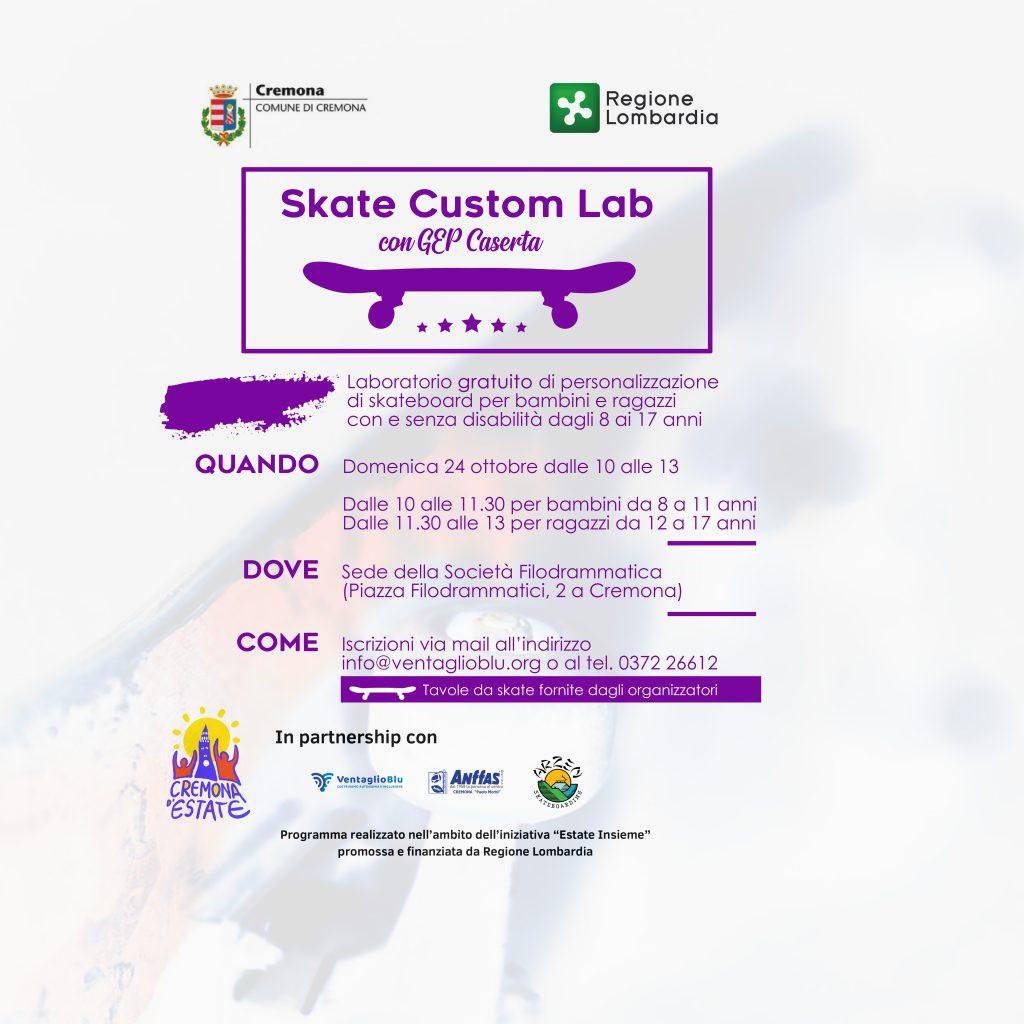 Con Skate Custom Lab, la personalizzazione degli skate si fa inclusiva